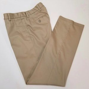 DOCKERS Mens Beige Khaki Dress Pants 33X34